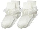 Jefferies Socks Jefferies Socks Snow Queen Lace 2 Pack (Infant/Toddler/Little Kid/Big Kid)