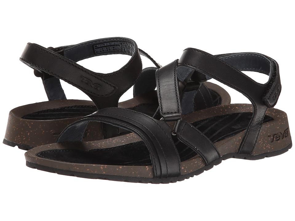 Teva Cabrillo Crossover Black Womens Sandals