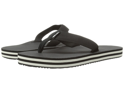 Teva Deckers Flip - Black/White