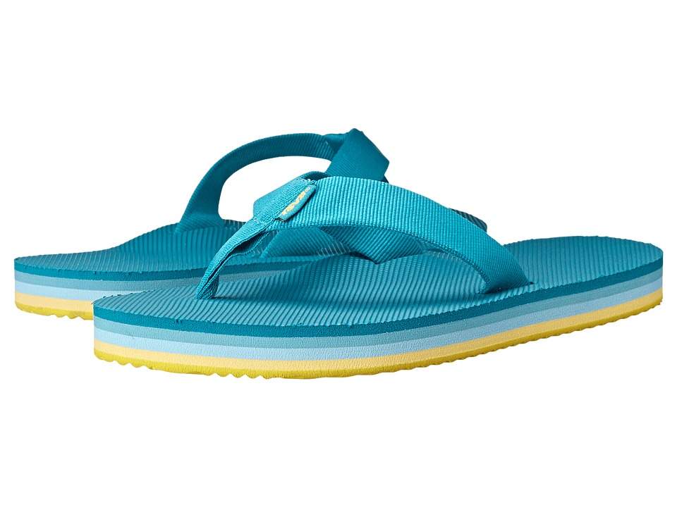 Teva - Deckers Flip (Lake Blue) Women's Sandals