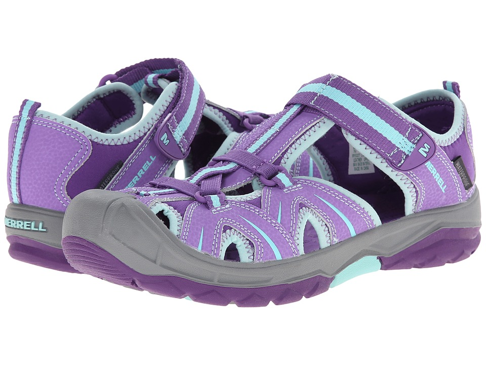 Merrell Kids Hydro (Big Kid) (Purple/Blue) Girls Shoes