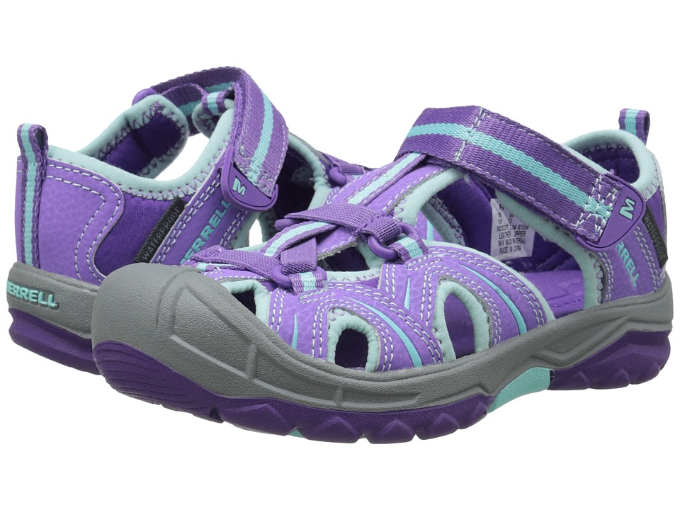 Merrell Kids Hydro (Toddler/Little Kid) (Purple/Blue) Girls Shoes