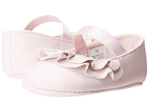 Baby Deer Ruffle Skimmer Mary Jane (Infant) - Pink