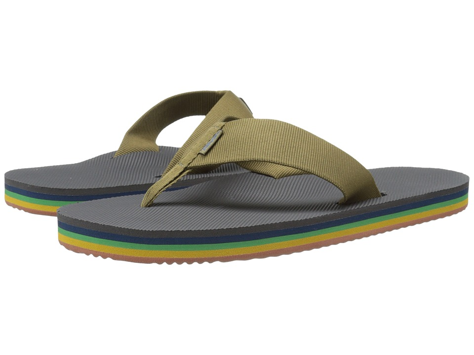Teva - Deckers Flip (Eiffel Tower Rainbow) Men