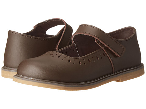 Baby Deer Stitchout Mary Jane (Infant/Toddler) - Brown