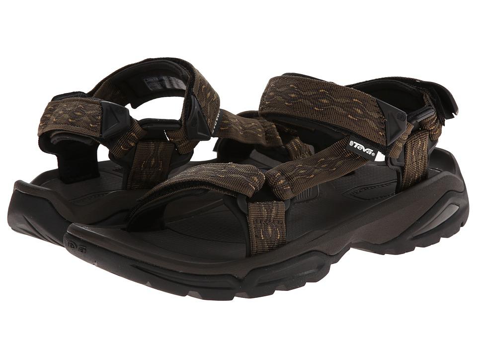 Teva - Terra FI 4 (Madang Olive Webbing) Men's Shoes