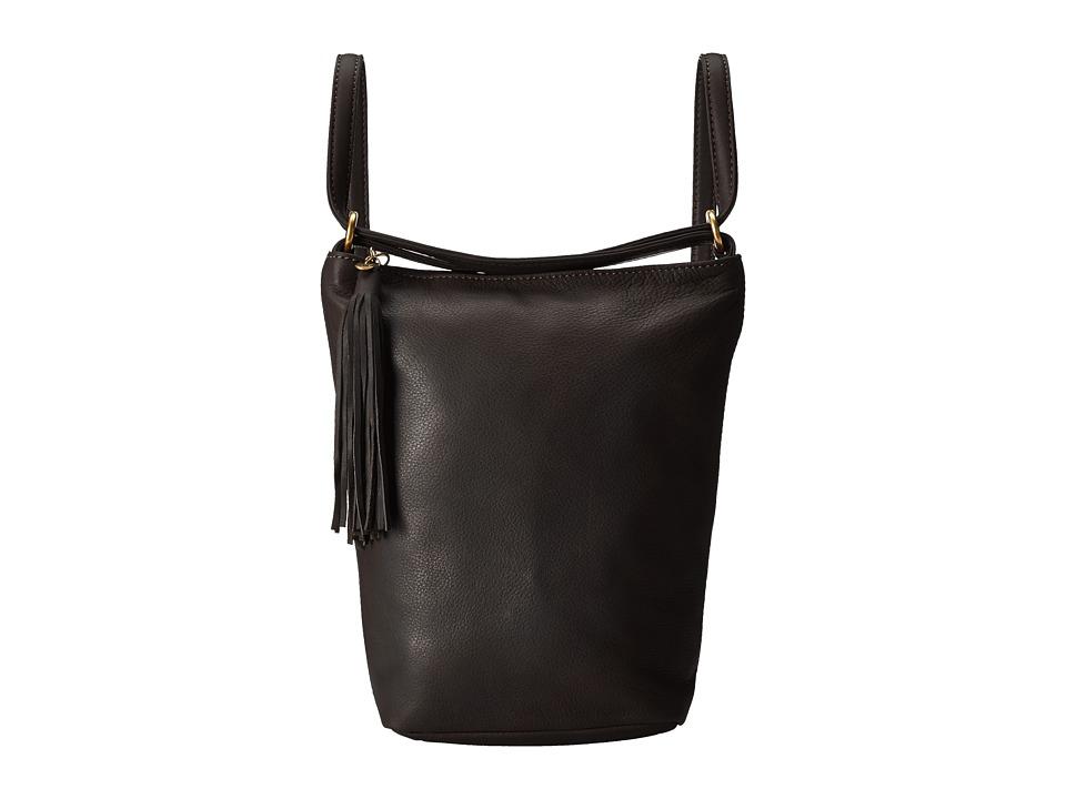 Hobo - Blaze (Black) Shoulder Handbags