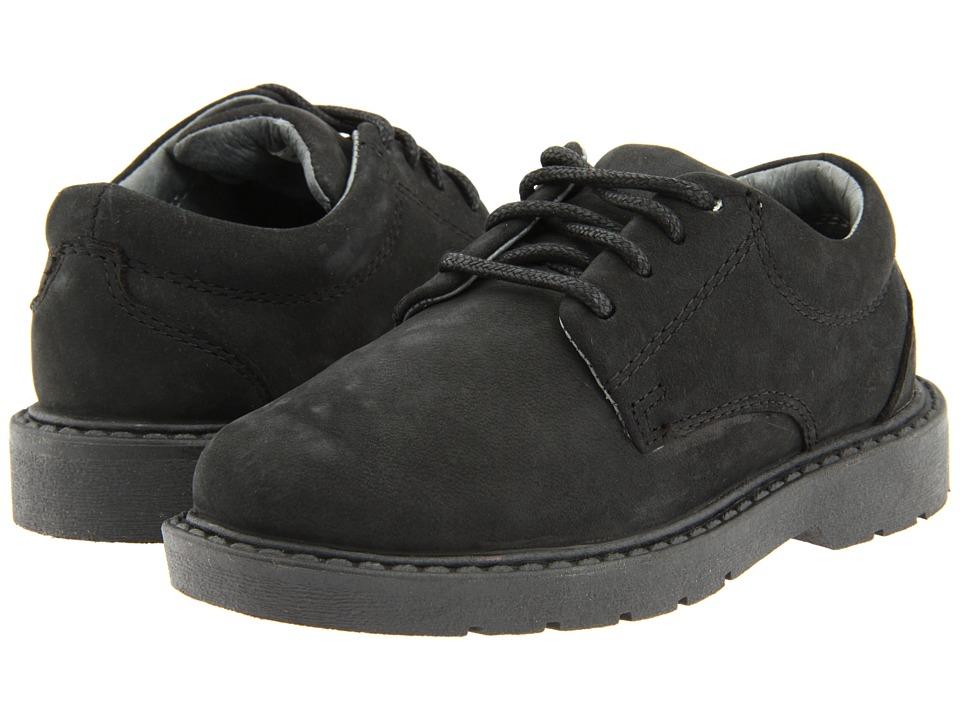 School Issue - Scholar (Toddler) (Black Oily Nubuck) Boys Shoes