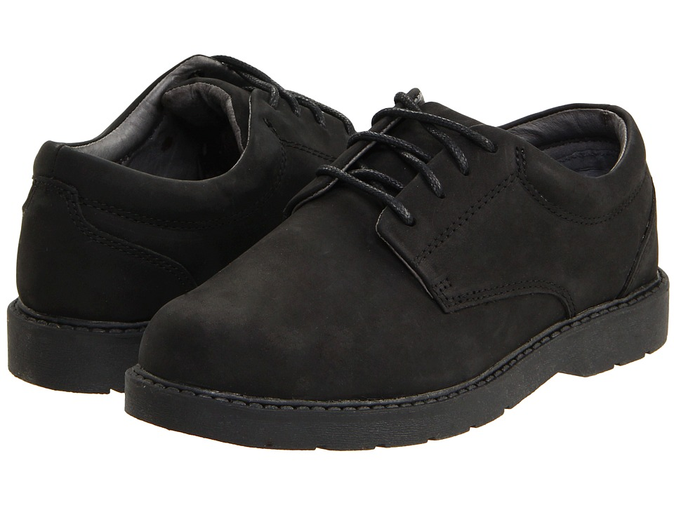 School Issue Scholar Toddler/Little Kid/Big Kid Black Oily Nubuck Boys Shoes