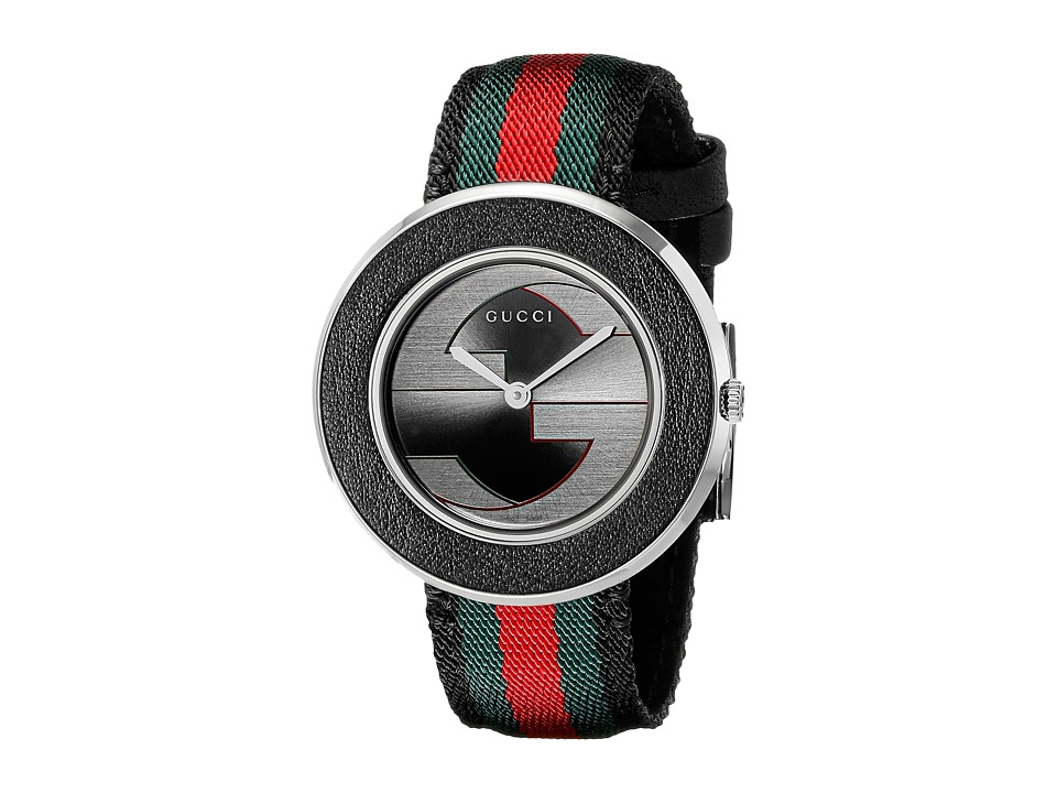 Gucci U Play MD YA129444 Anthracite/Black Analog Watches
