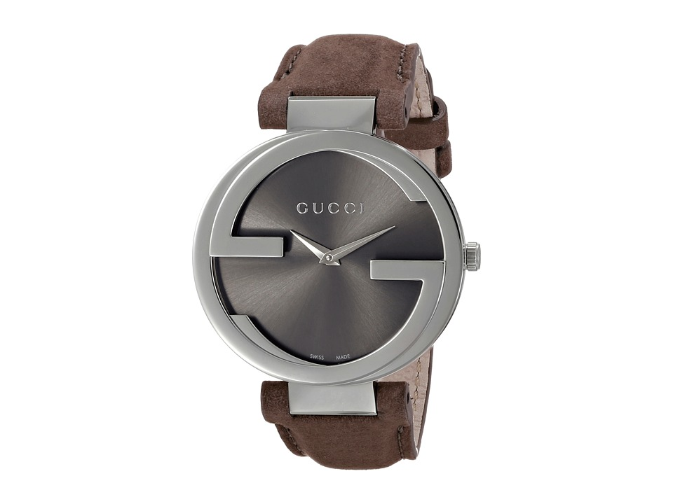 Gucci Interlocking LG YA133319 Brown Watches