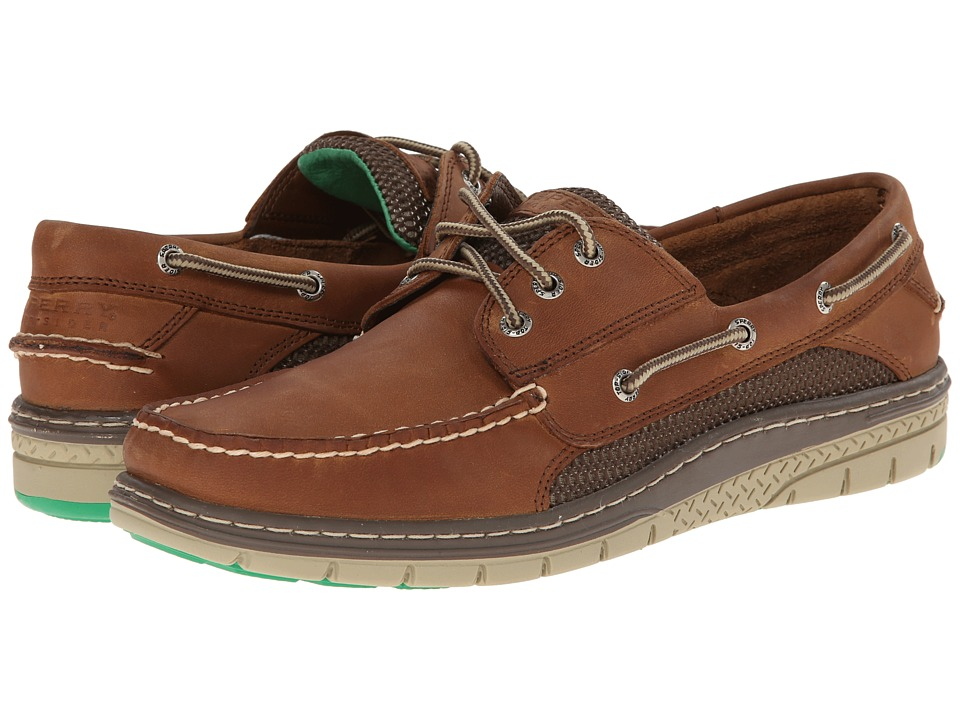 Sperry Top-Sider Billfish Ultralite 3-Eye (Tan/Green) Men