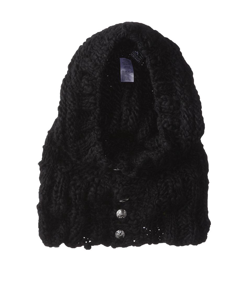 Spacecraft Jocelyn Black Knit Hats
