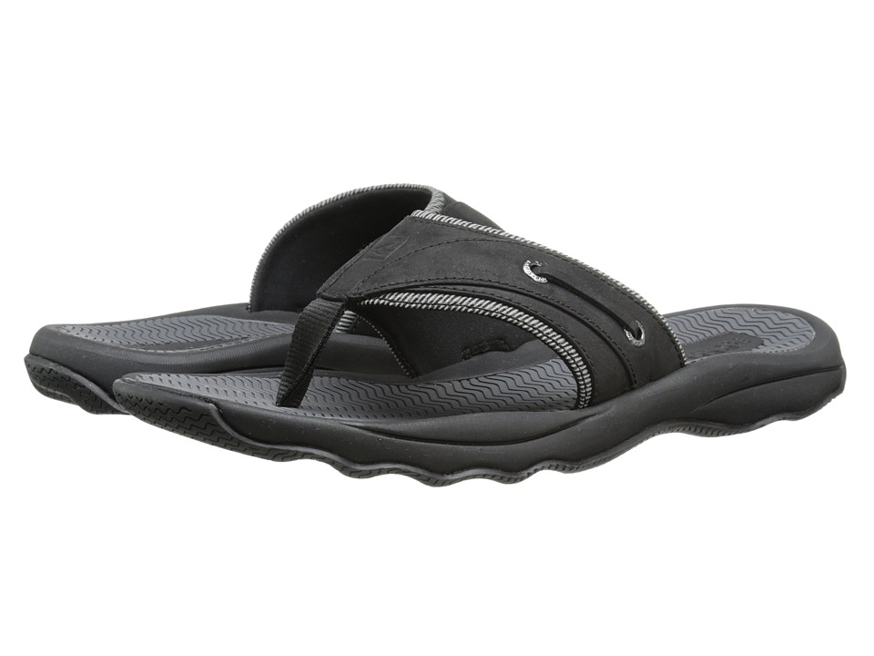 Sperry Top-Sider - Outer Banks Thong (Black) Men