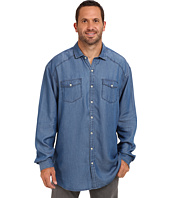 Tommy Bahama Big & Tall - Big & Tall Empire Indigo Long Sleeve Shirt