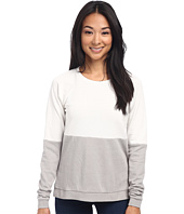 Alternative - Light French Terry Color Block Crew Neck