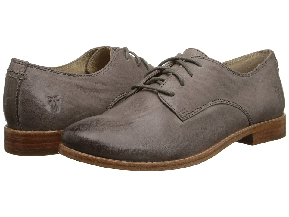 Frye Anna Oxford (Grey Antique Soft Vintage) High Heels