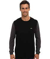 Lacoste - GLC Cotton Color Block Crew Neck Sweater
