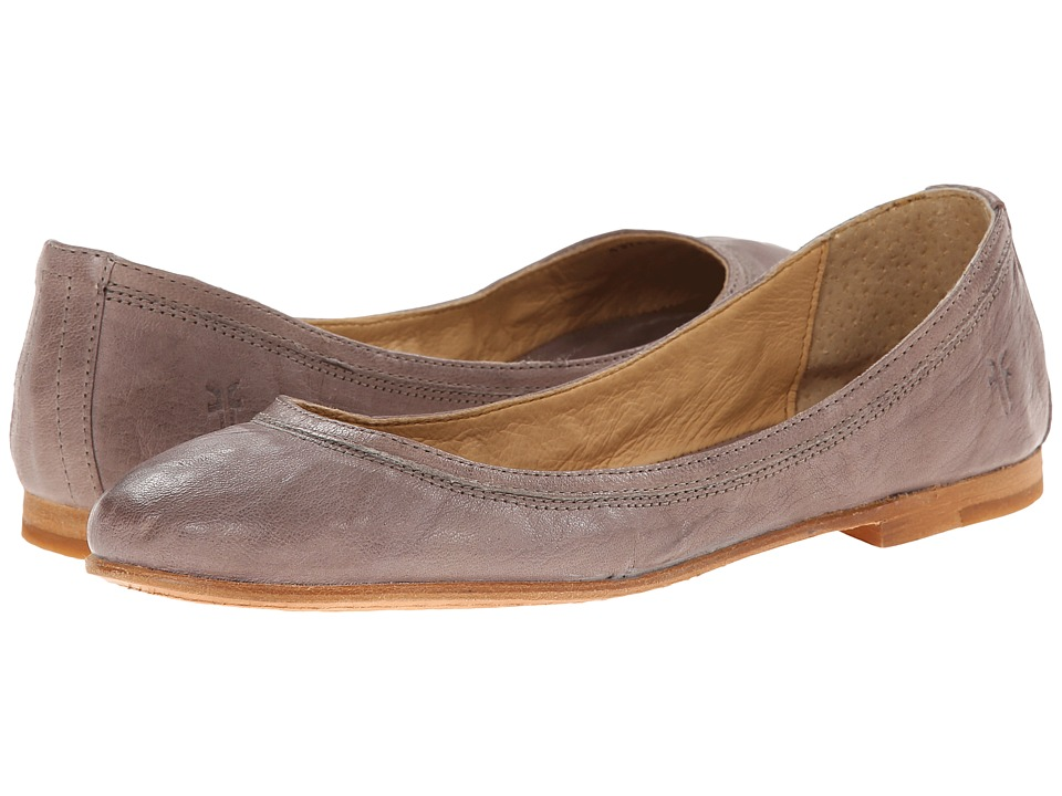 Frye - Carson Ballet (Grey Antique Soft Vintage) Womens Flat Shoes