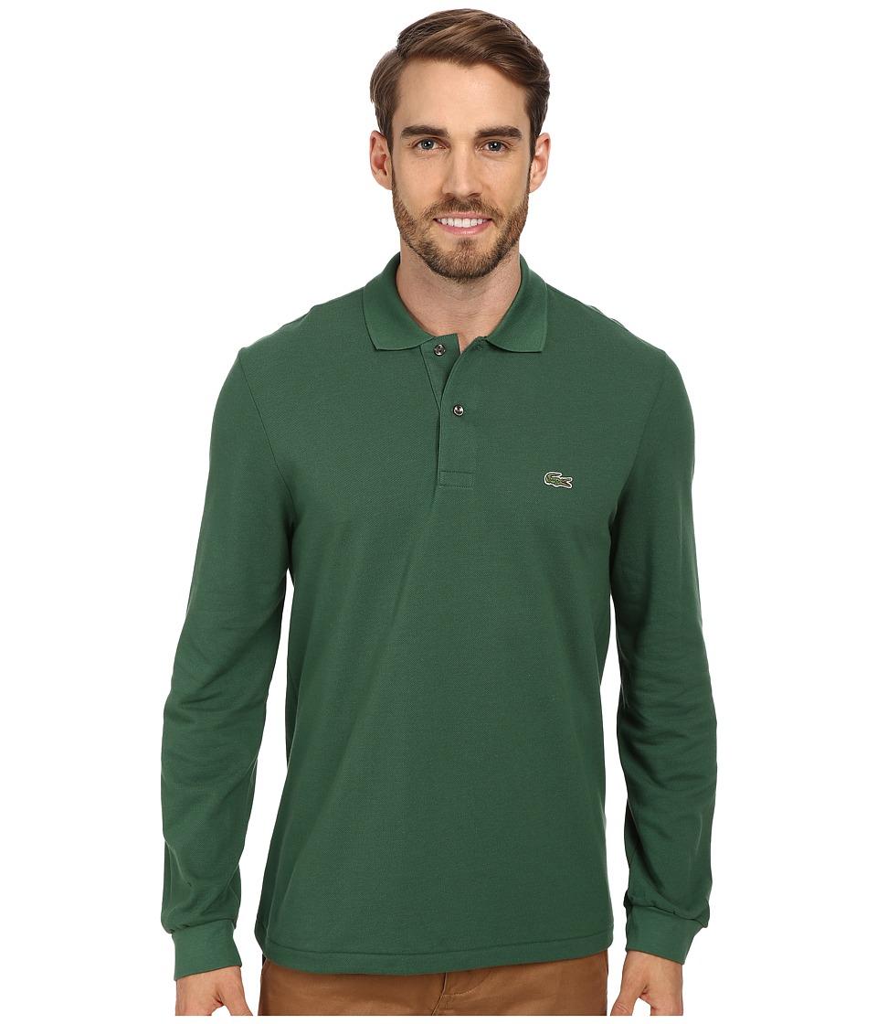 Lacoste - L/S Classic Pique Polo (Appalachan Green) Men