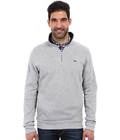 Lacoste - Half Zip Lightweight Sweatshirt w/ Logo At Neck