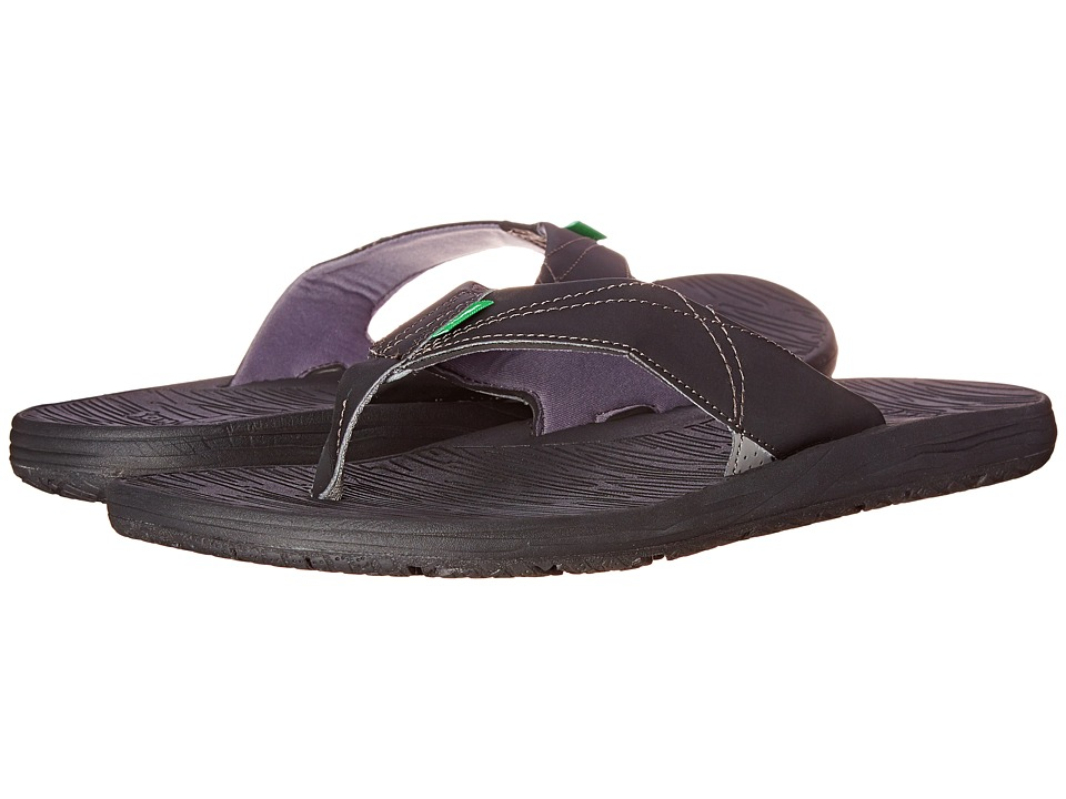 Sanuk - Latitude (Black) Men
