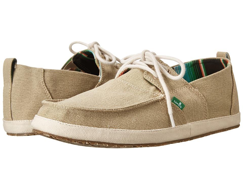 Sanuk Admiral Tan Mens Slip on Shoes