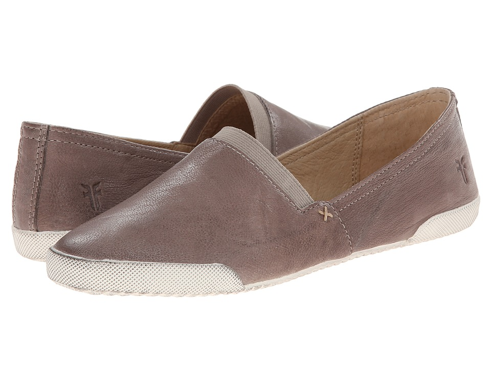 Frye Melanie Slip On (Grey Antique Soft Vintage) Slip-On Shoes