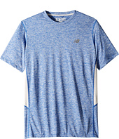 New Balance - Short Sleeve Heather Training Tee