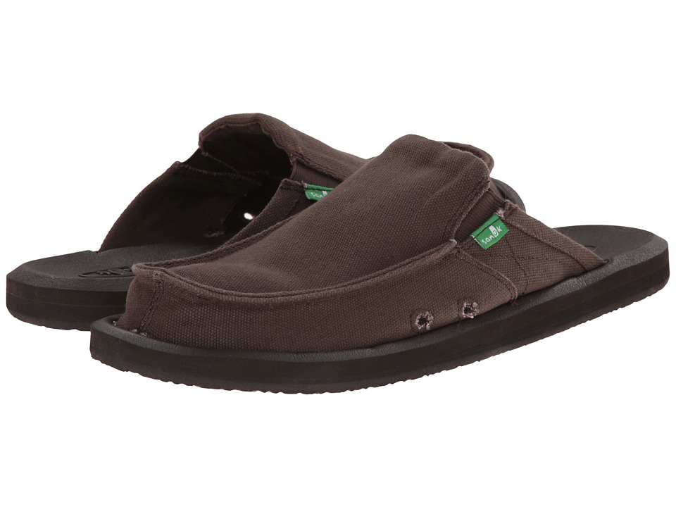 Sanuk - You Got My Back 2 Basics (Dark Brown) Men