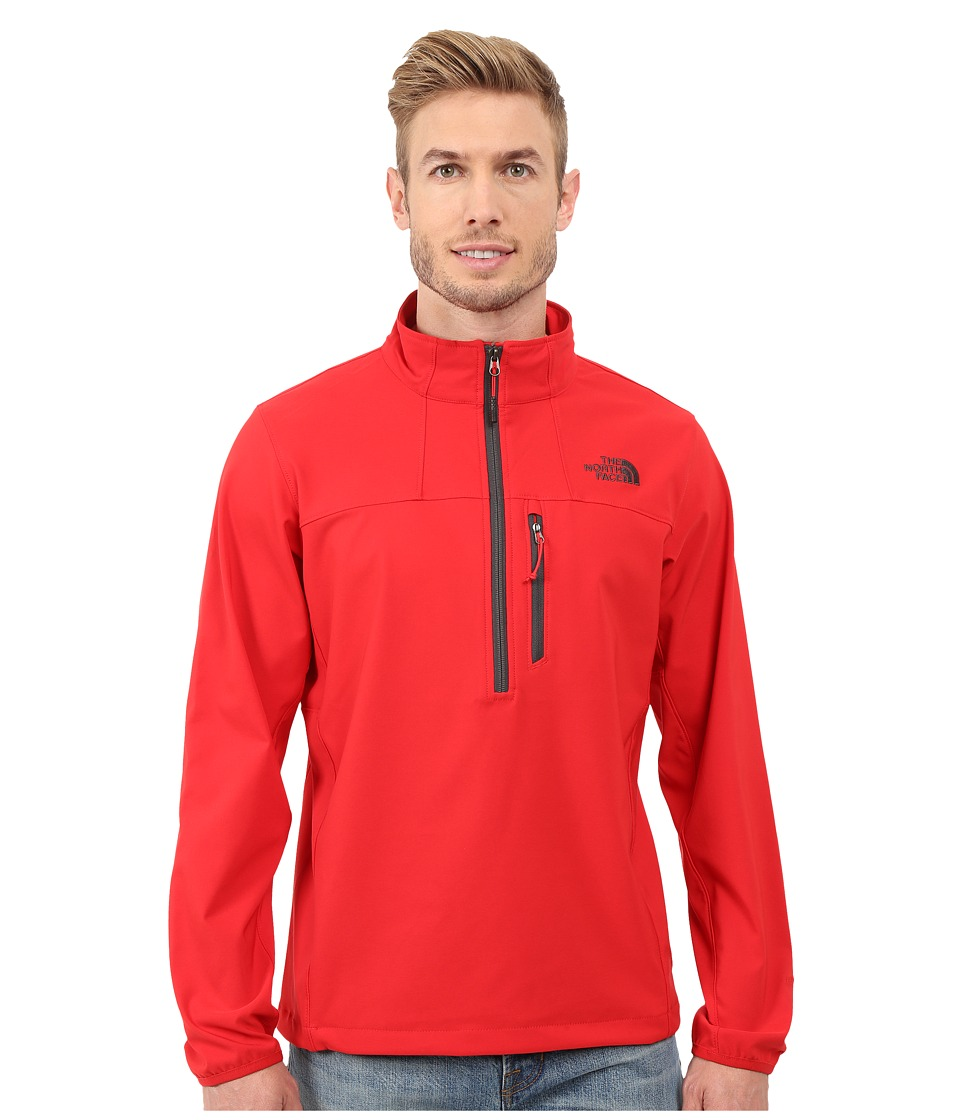 The North Face Nimble 1/2 Zip Jacket TNF Red Mens Long Sleeve Pullover