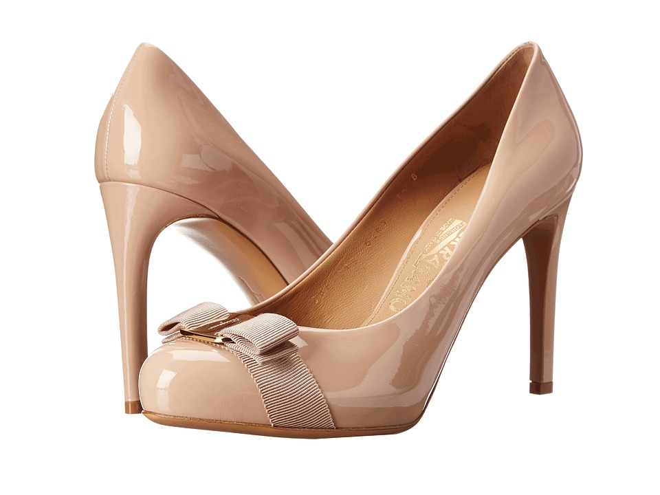 Salvatore Ferragamo Pimpa (New Bisque) High Heels