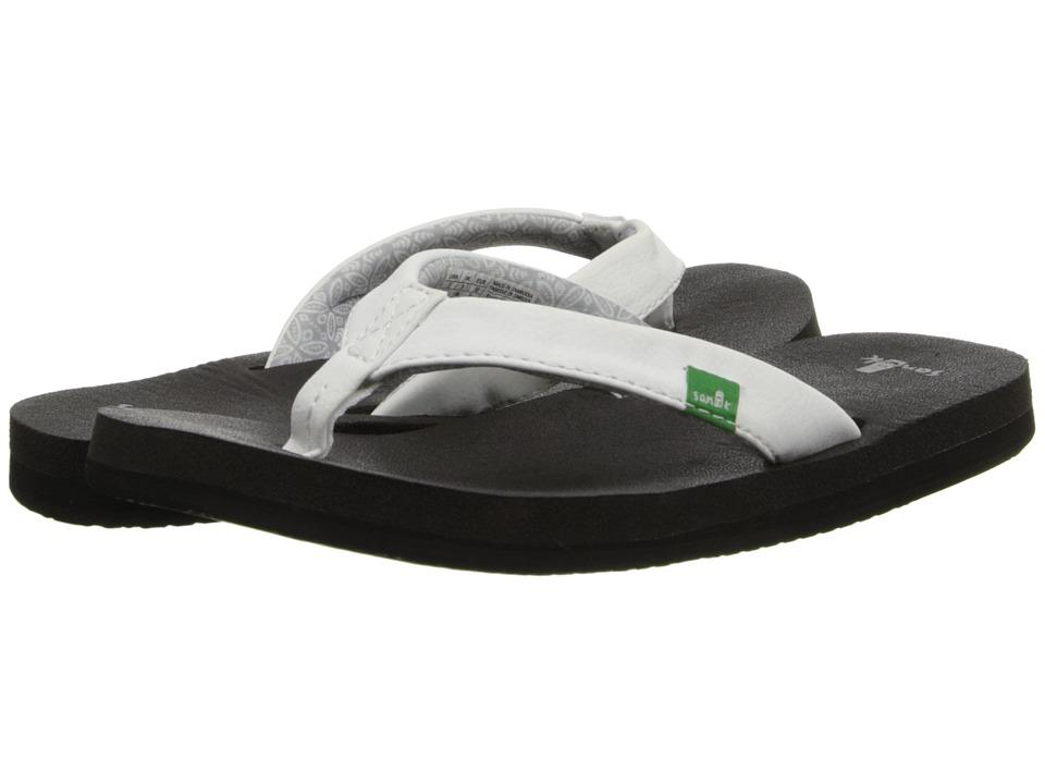 Sanuk Yoga Zen White Womens Sandals