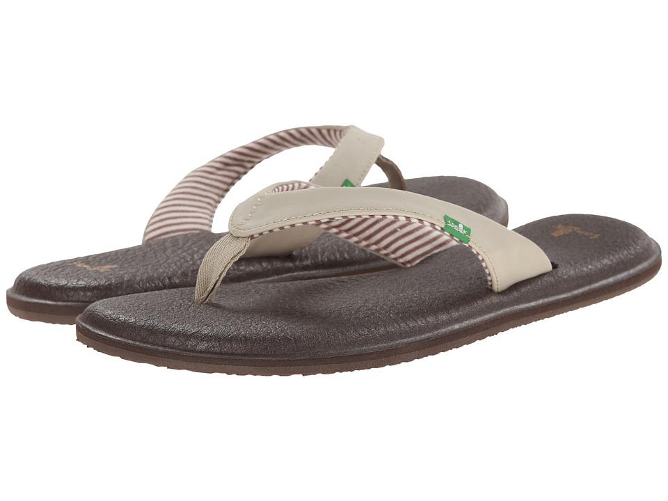 Sanuk Yoga Chakra (Light Natural) Sandals