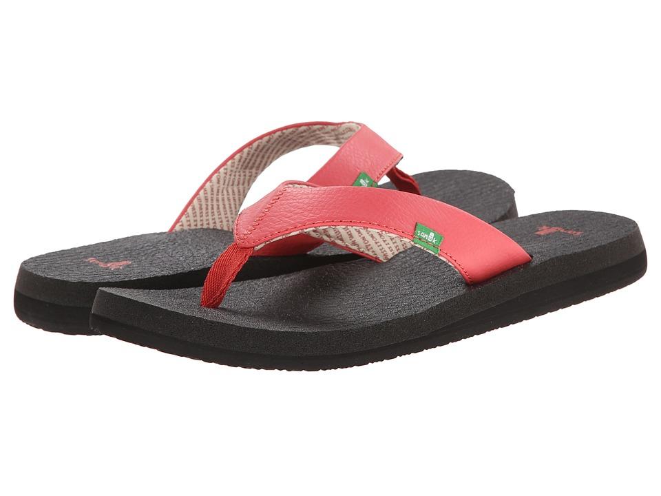 Sanuk Yoga Mat (Watermelon) Sandals