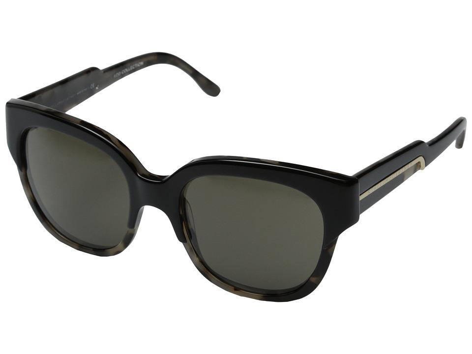 Stella McCartney SM4050 Black/Matte Grey Tortoise Brown Fashion Sunglasses
