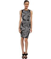 Versace Collection - Graphic Print Knit Dress