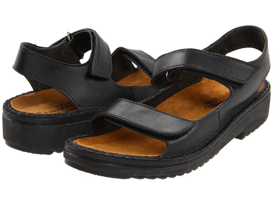 Naot Footwear Karenna (Black Matte Leather) Sandals