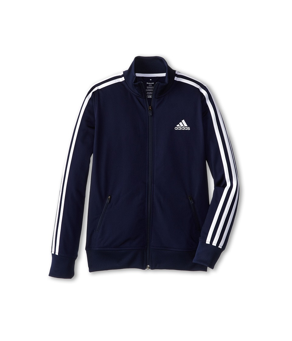 adidas Kids - Separates Training Track Jacket (Big Kids) (Colligiante Navy/White) Boy