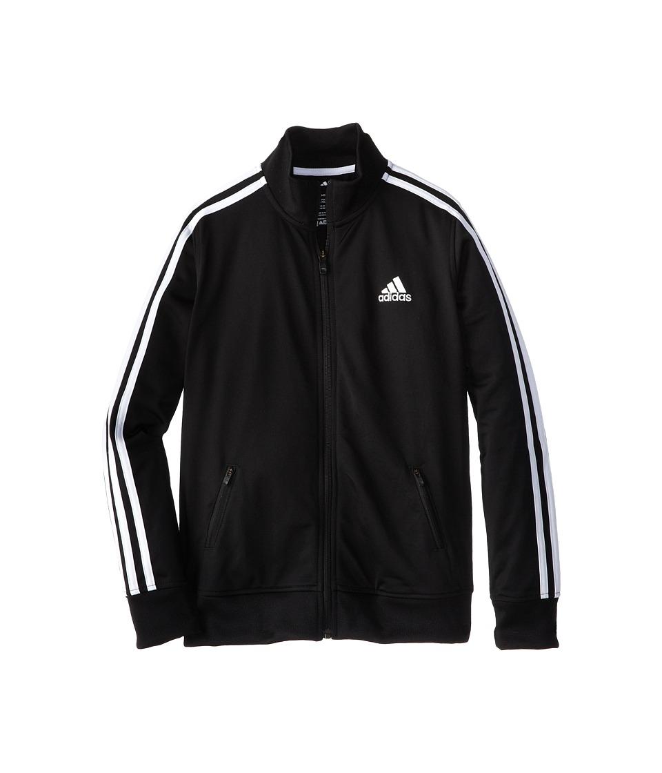 adidas Kids - Separates Training Track Jacket (Big Kids) (Black/White) Boy