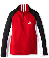 adidas Kids - Long Sleeve 1/4 Zip (Big Kids)