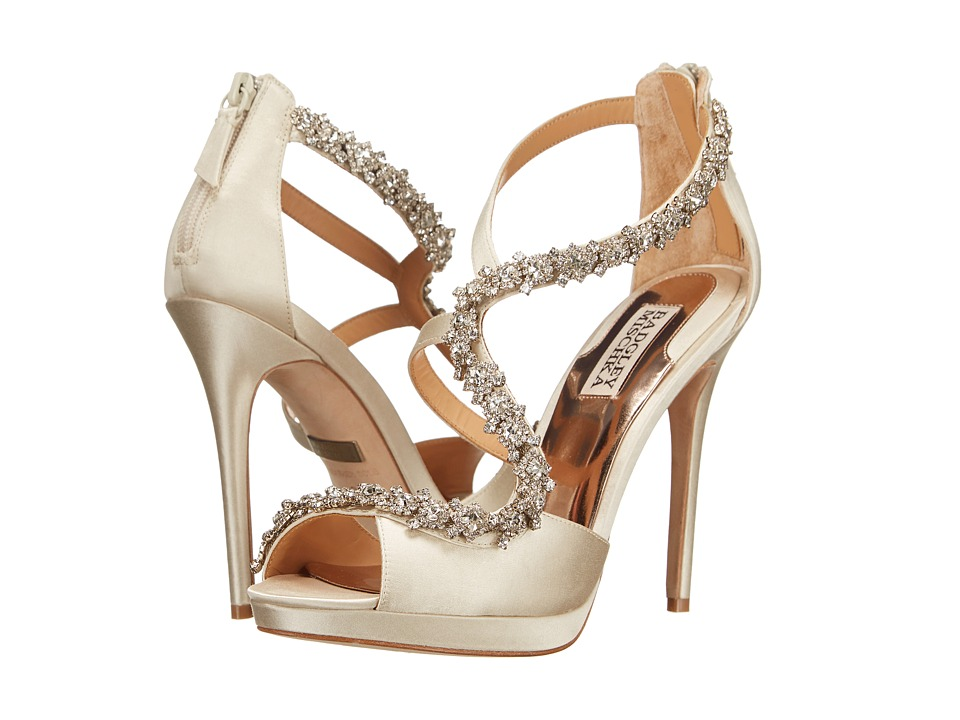 Sparkly day-dream wedding shoes | Offbeat Bride