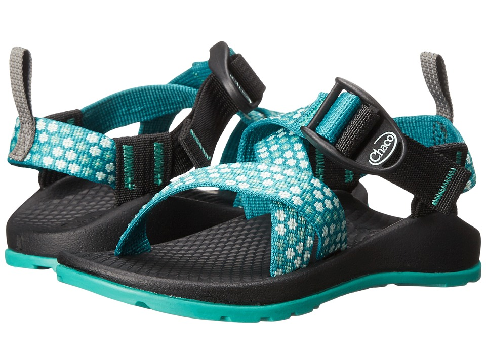 Chaco Kids Z/1 Ecotread Toddler/Little Kid/Big Kid Teal Beams Girls Shoes