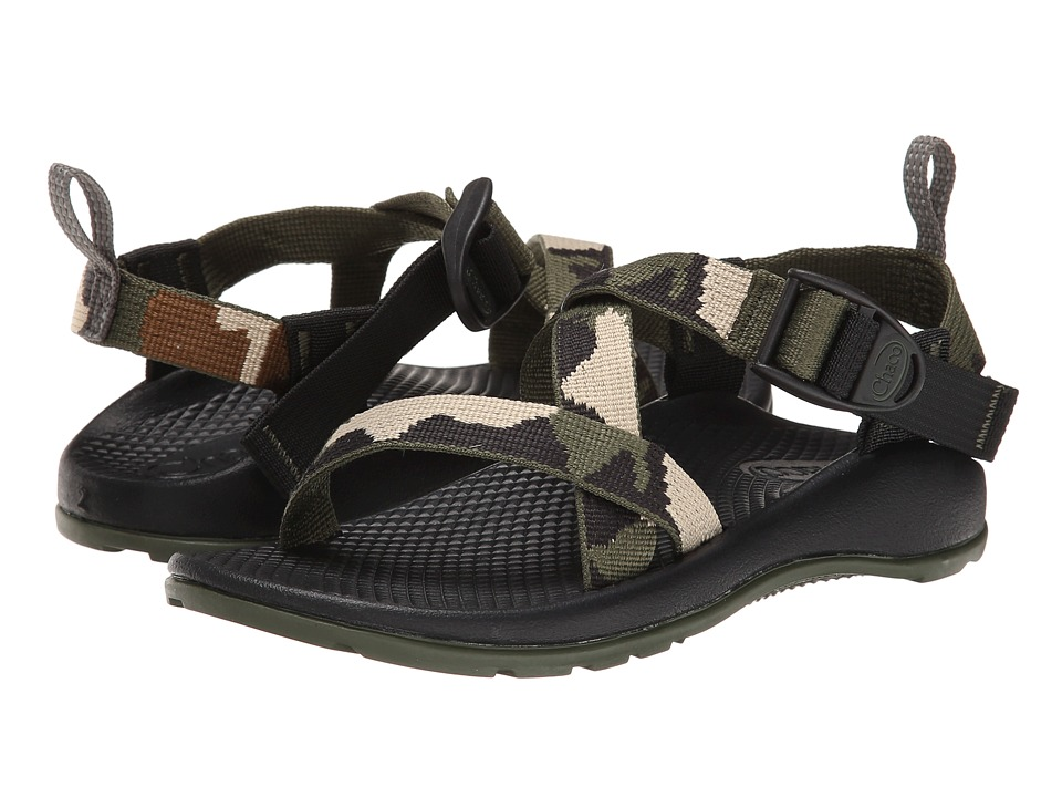 Chaco Kids Z/1 Ecotread Toddler/Little Kid/Big Kid Camo Kids Shoes