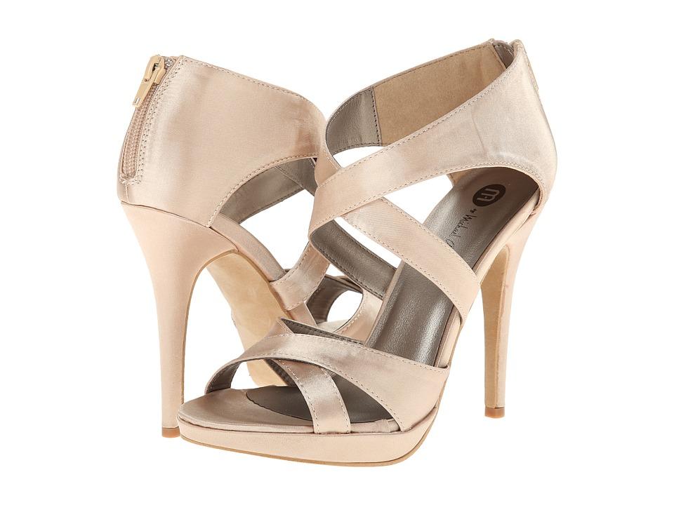 Michael Antonio Taurus Sat (Champagne) Women's Dress Sandals