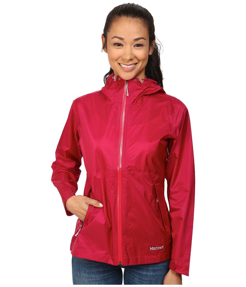 Marmot Crystalline Jacket Raspberry Womens Coat