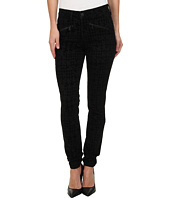 NYDJ - Ami Super Skinny in Houndstooth Flocking/Black