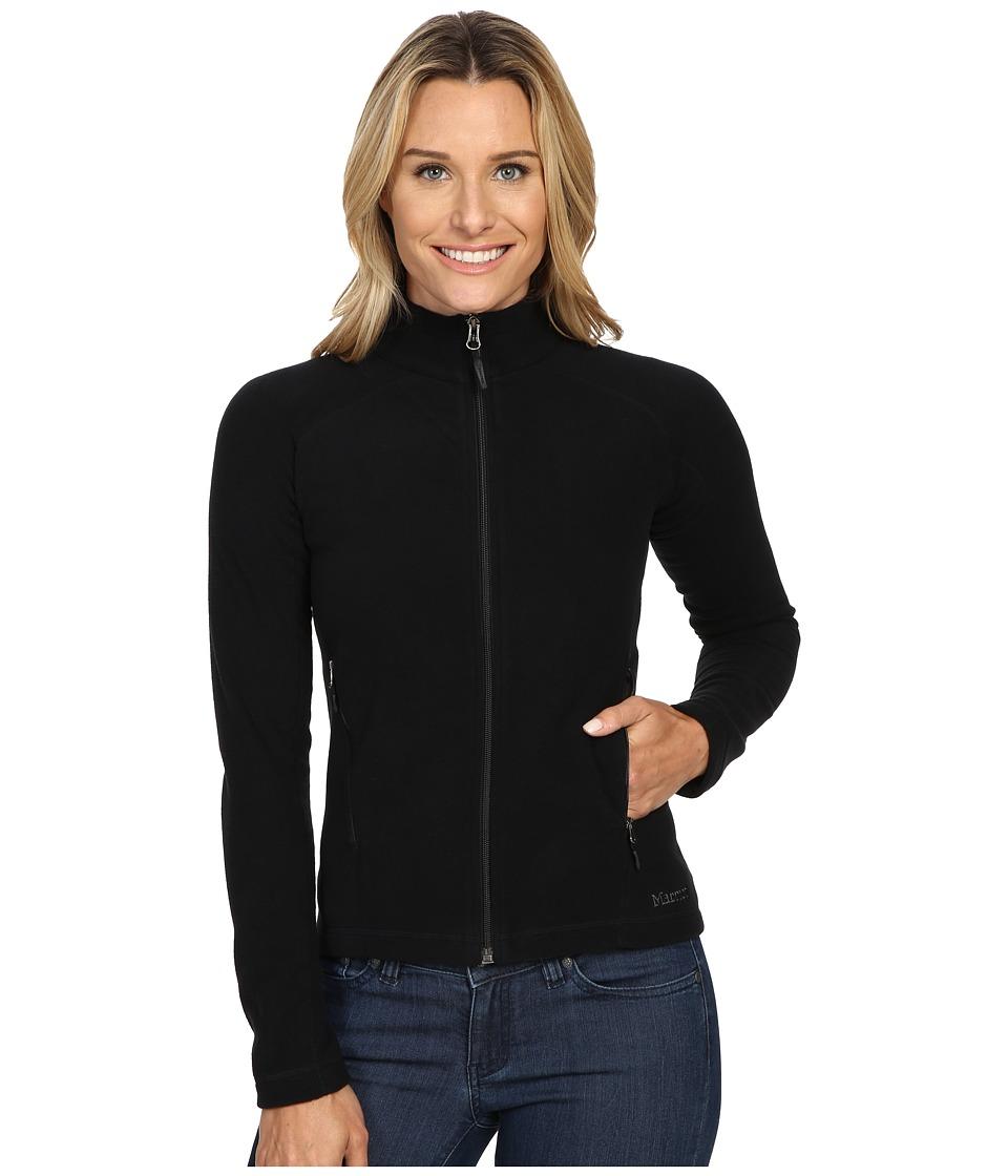 Marmot - Rocklin Full Zip Jacket (Black) Womens Clothing