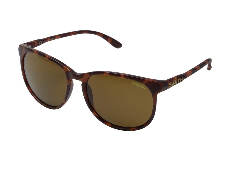 Smith Optics Mt. Shasta Matte Tortoise/Polar Brown Carbonic TLT Lenses Plastic Frame Fashion Sunglasses