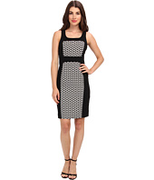 Laundry by Shelli Segal - Graphic Jacquard Dress
